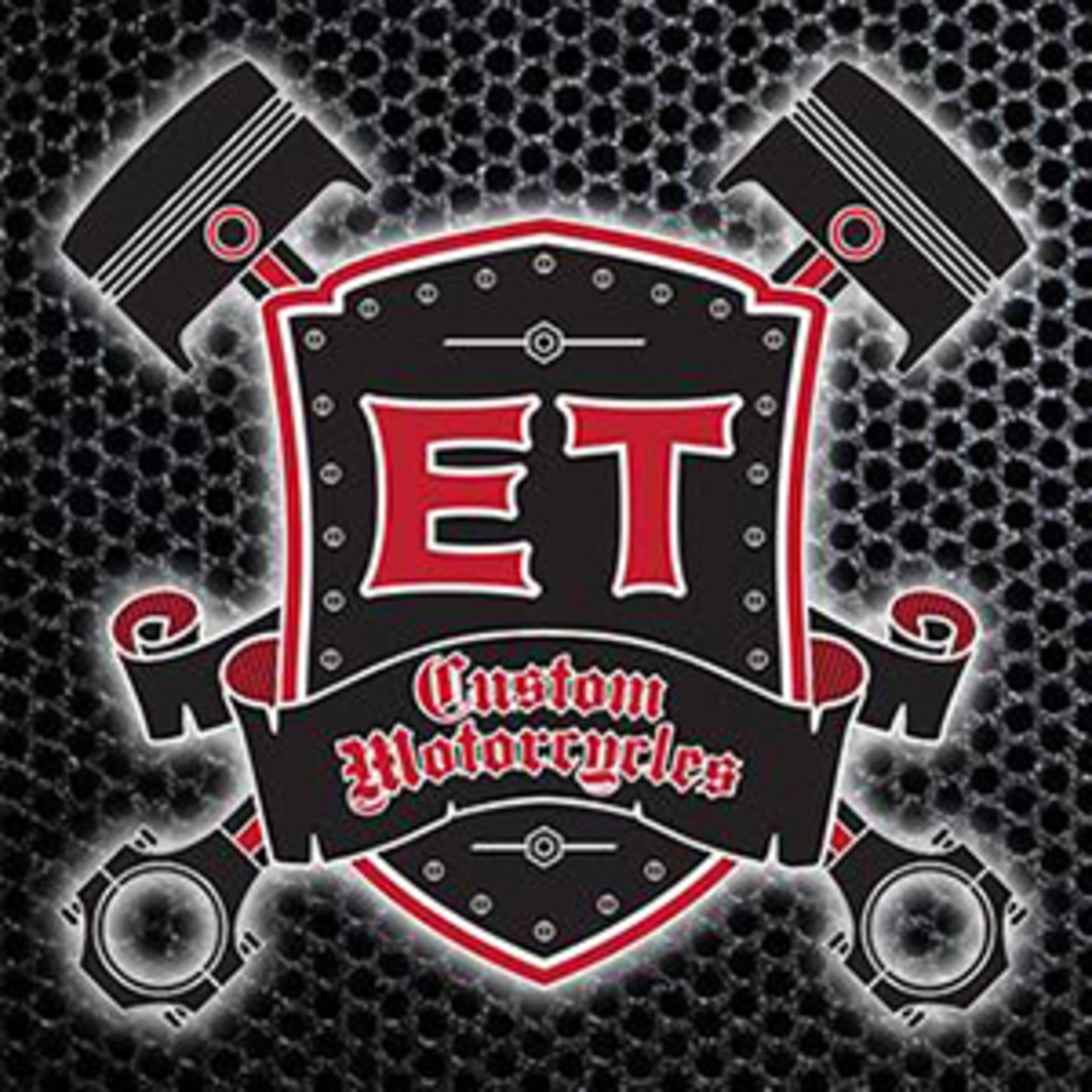 et custom motorcyles- company logo