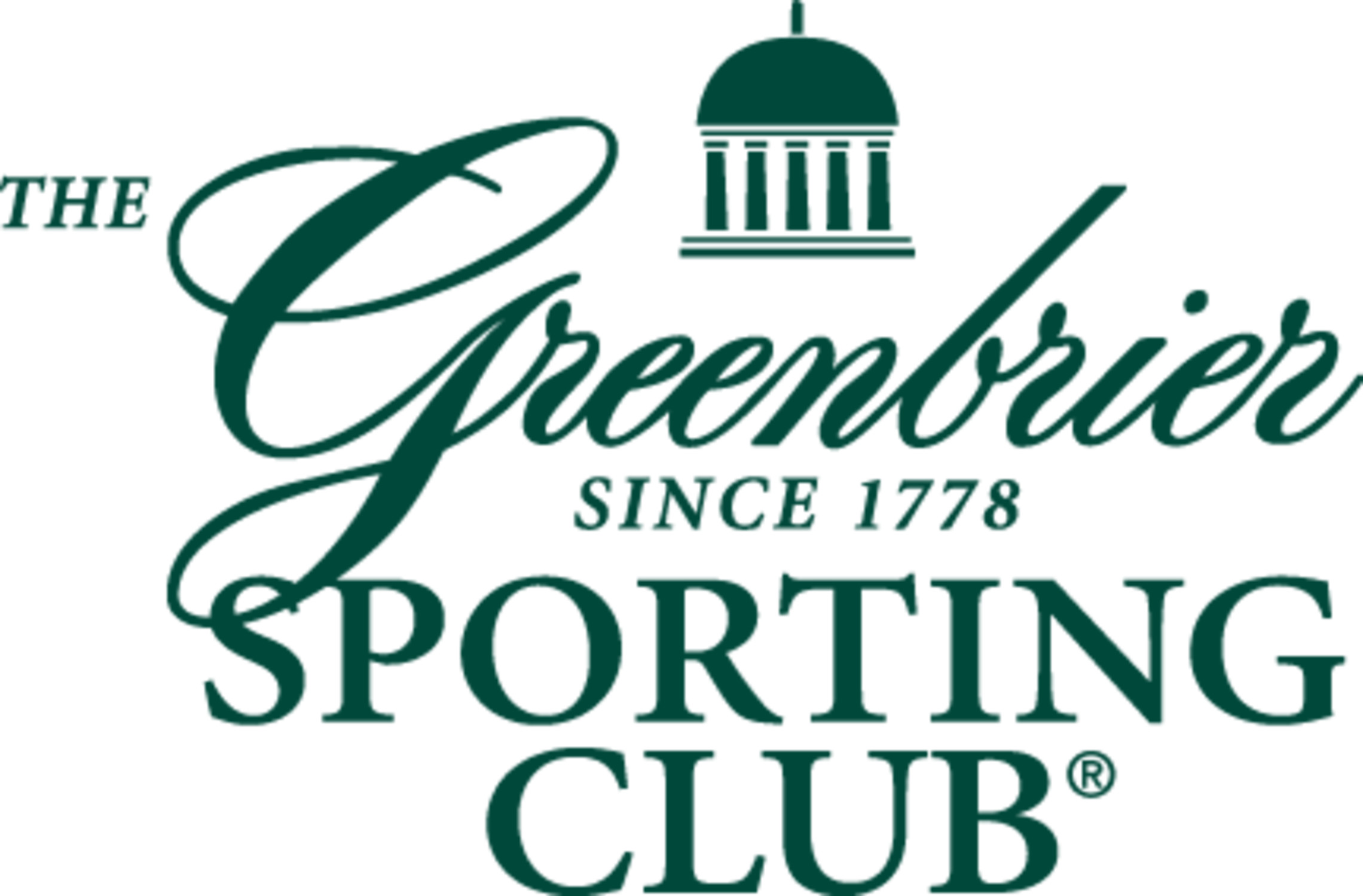the greenbrier sporting- company logo