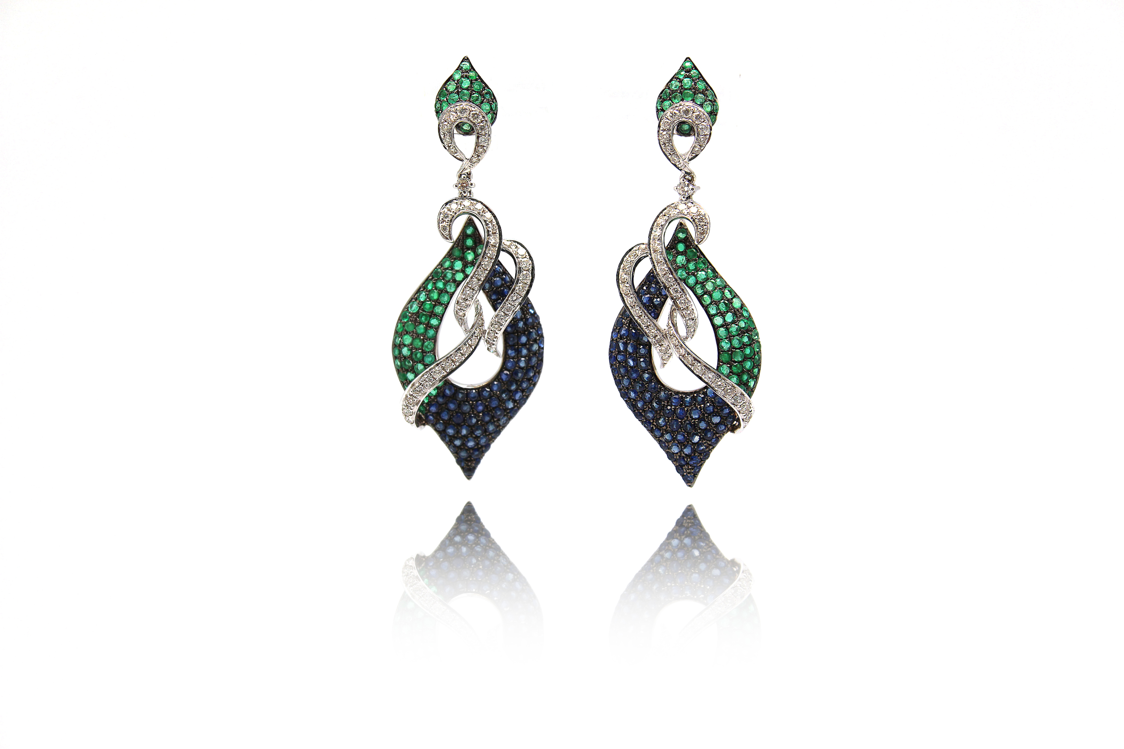 Peacock Lane Fine Earrings