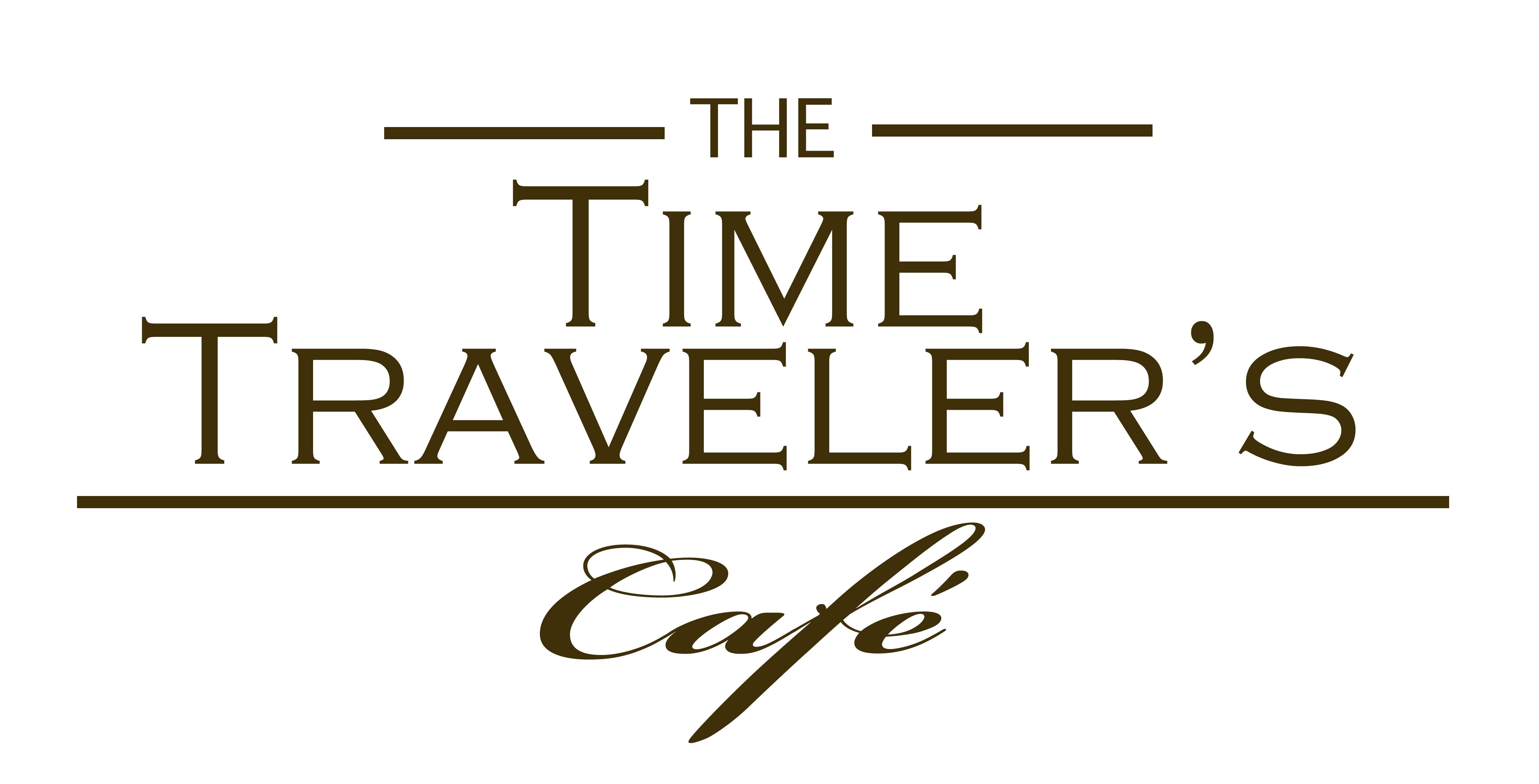 time traveler s- company logo