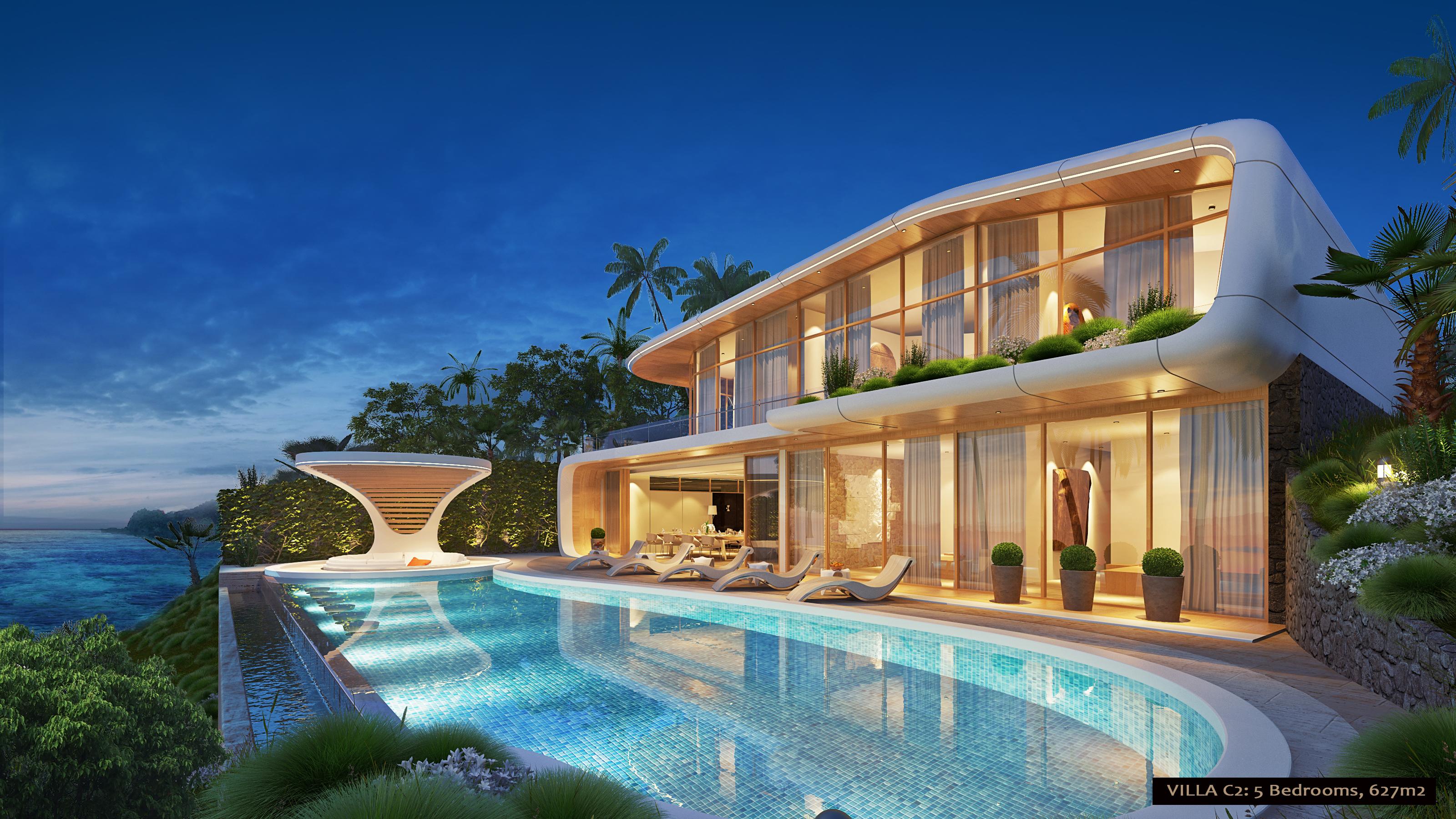 5 Bedroom Dynamic Seaview Villa
