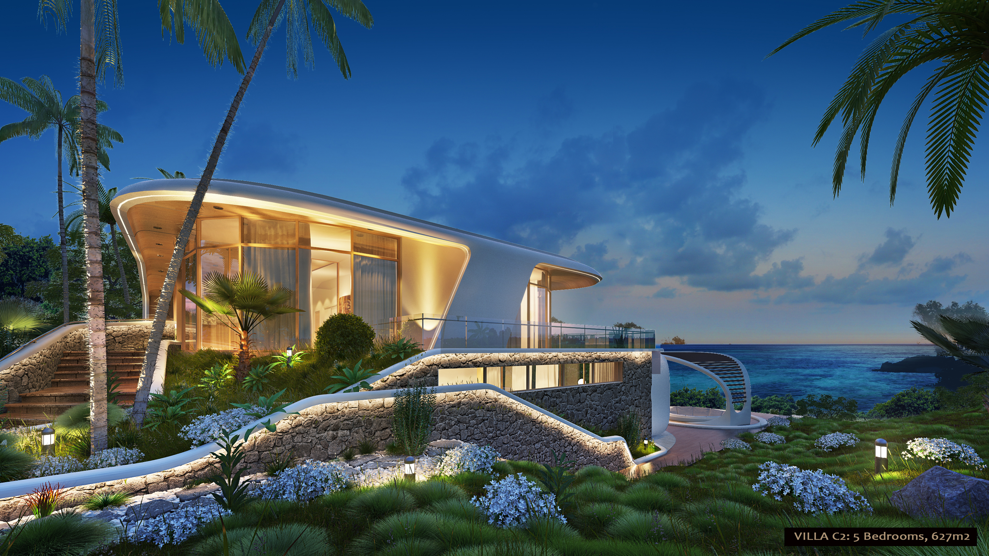 5 Bedroom Dynamic Seaview Villa
