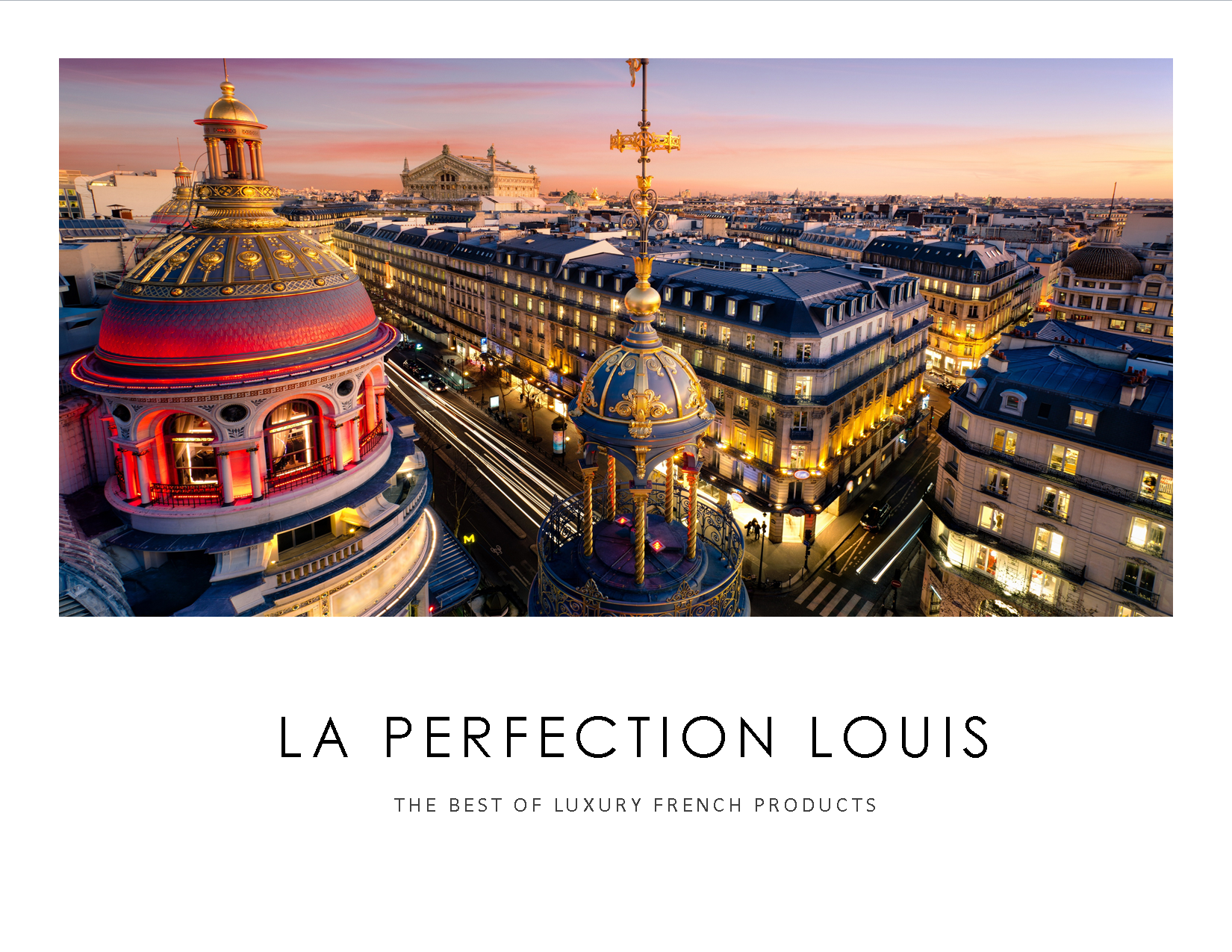 la perfection louis- company logo