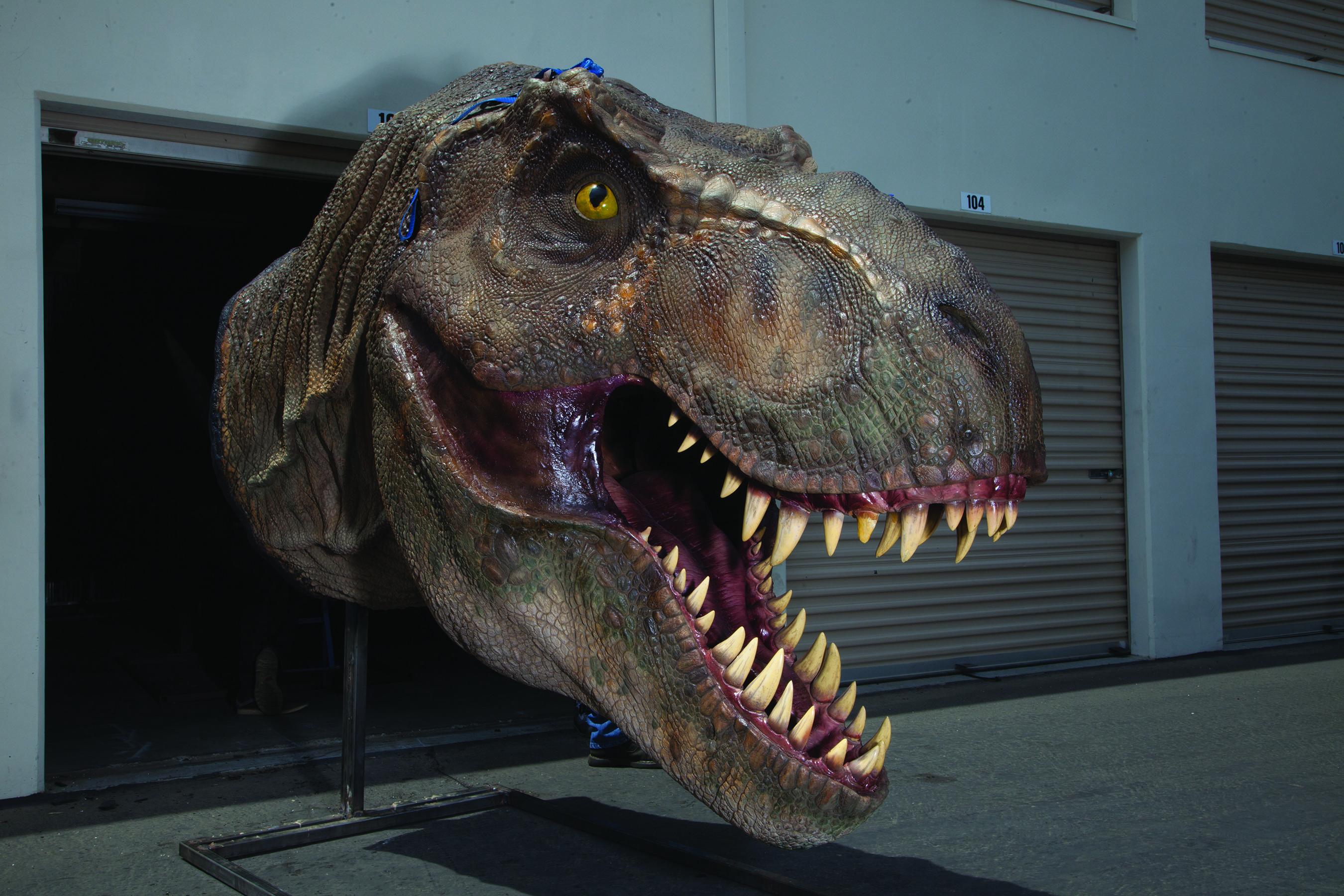 T. rex Head (Jurassic Park Movie)