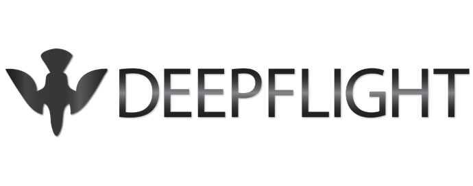 deep flight- company logo