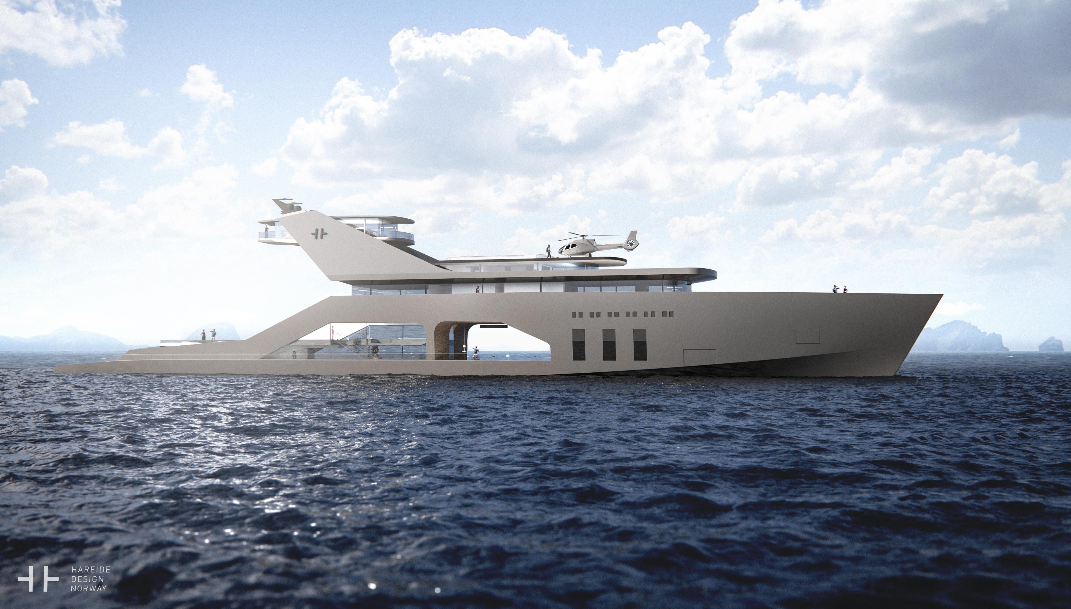 108M mega yacht concept (2016)
