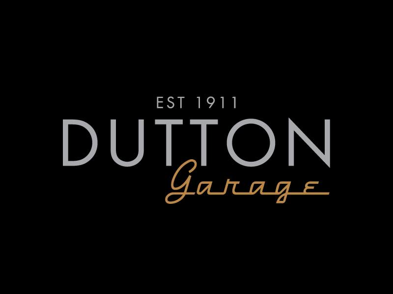 dutton garage- company logo