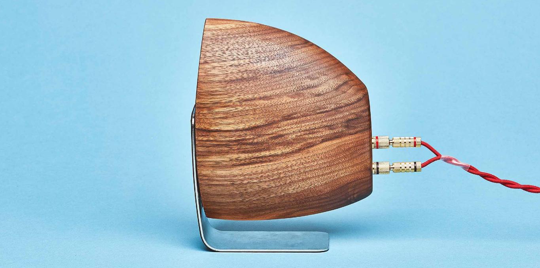 Walnut Speakers & Amp