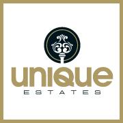 unique estates- company logo