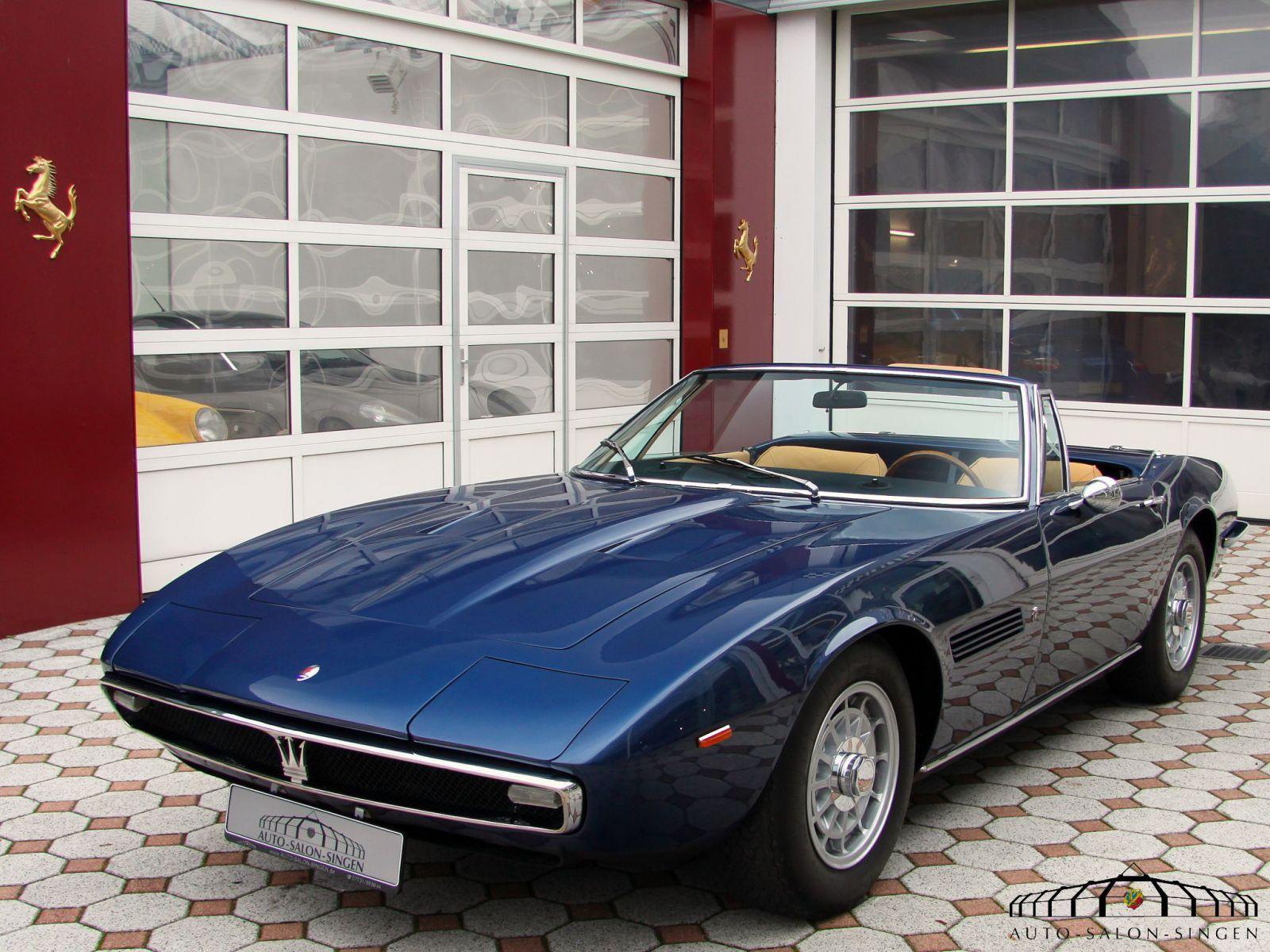 Maserati Ghibli Spyder 4.7