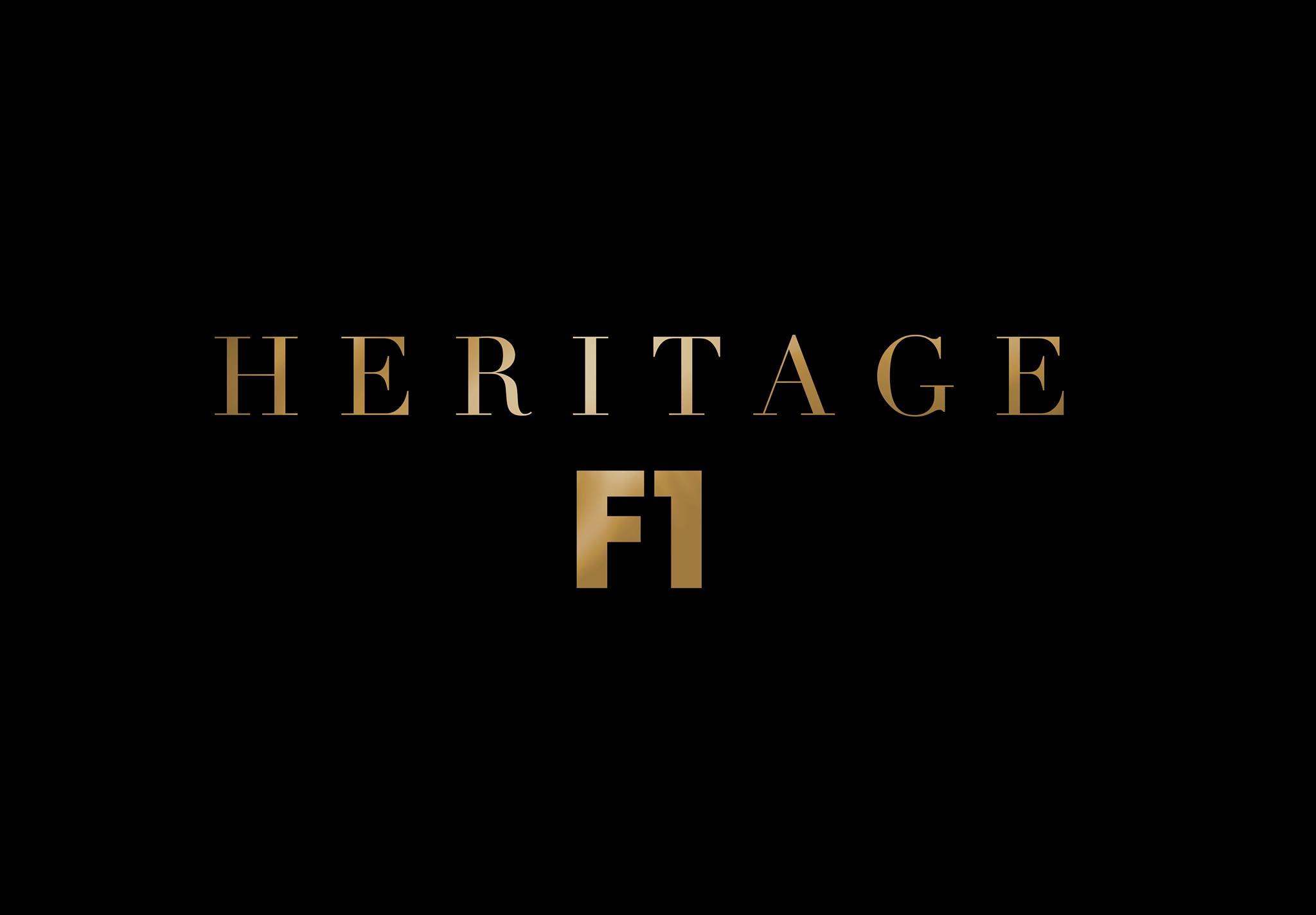 heritage f1- company logo
