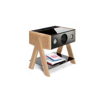 Cube speaker - Solid oak