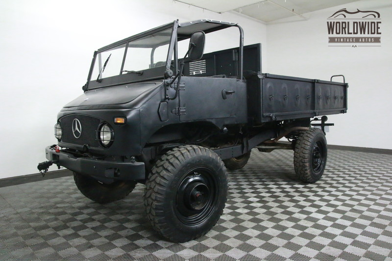 1973 MERCEDES UNIMOG	RESTORED RECON TRAIL TRUCK!