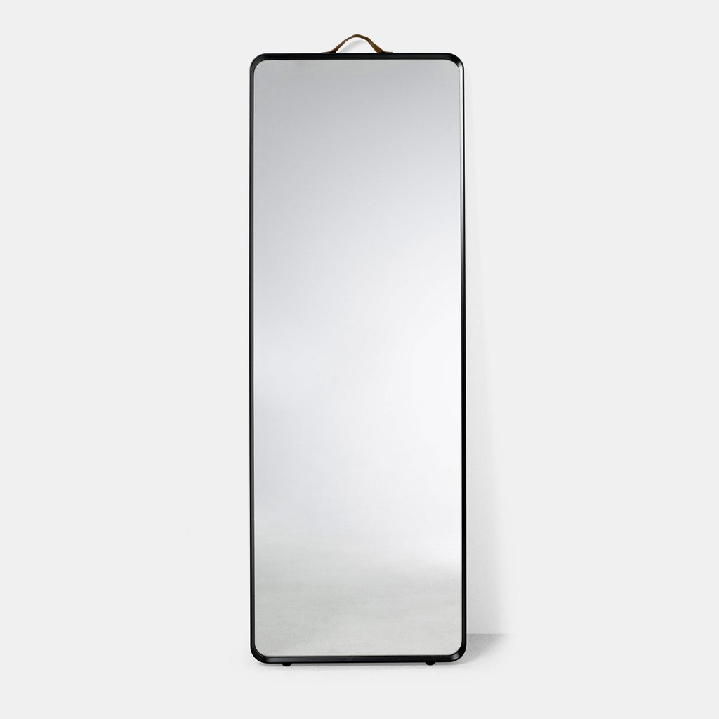 NORM FLOOR MIRROR - BLACK