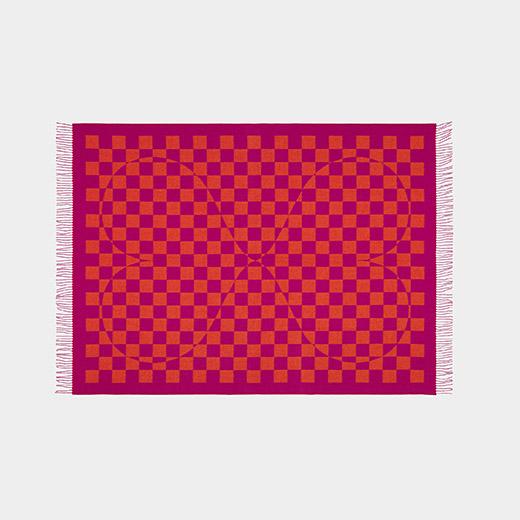 Alexander Girard Double Heart Blanket