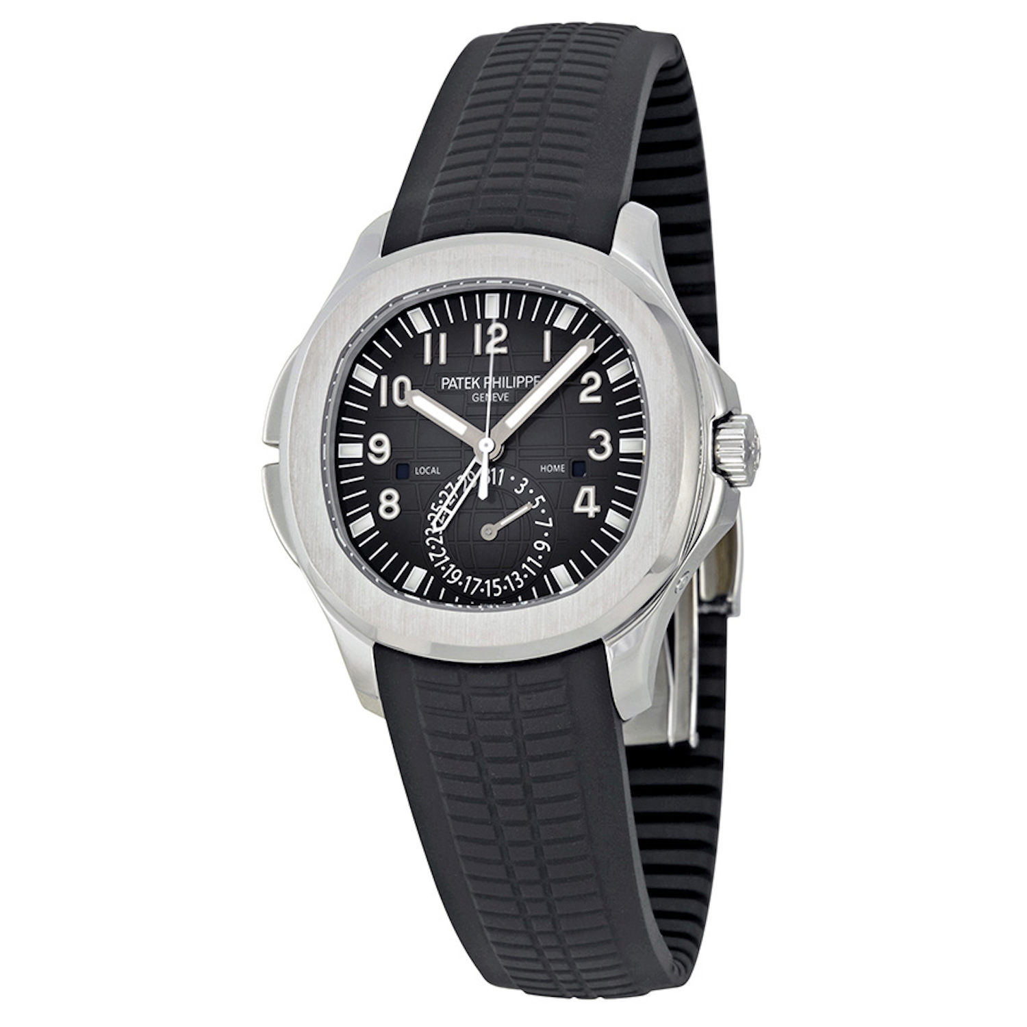 Patek Philippe Men's Aquanaut Stainless Steel Travel Time 5164A-001