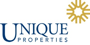 unique properties- company logo
