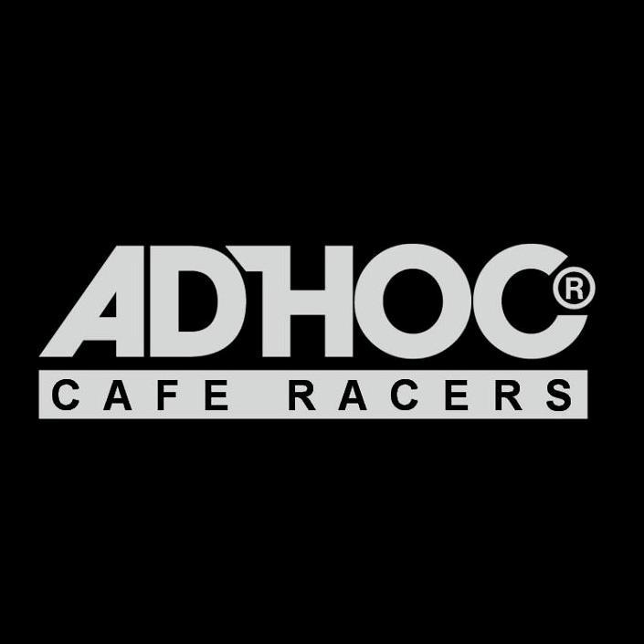 adhoc cafe racers- company logo
