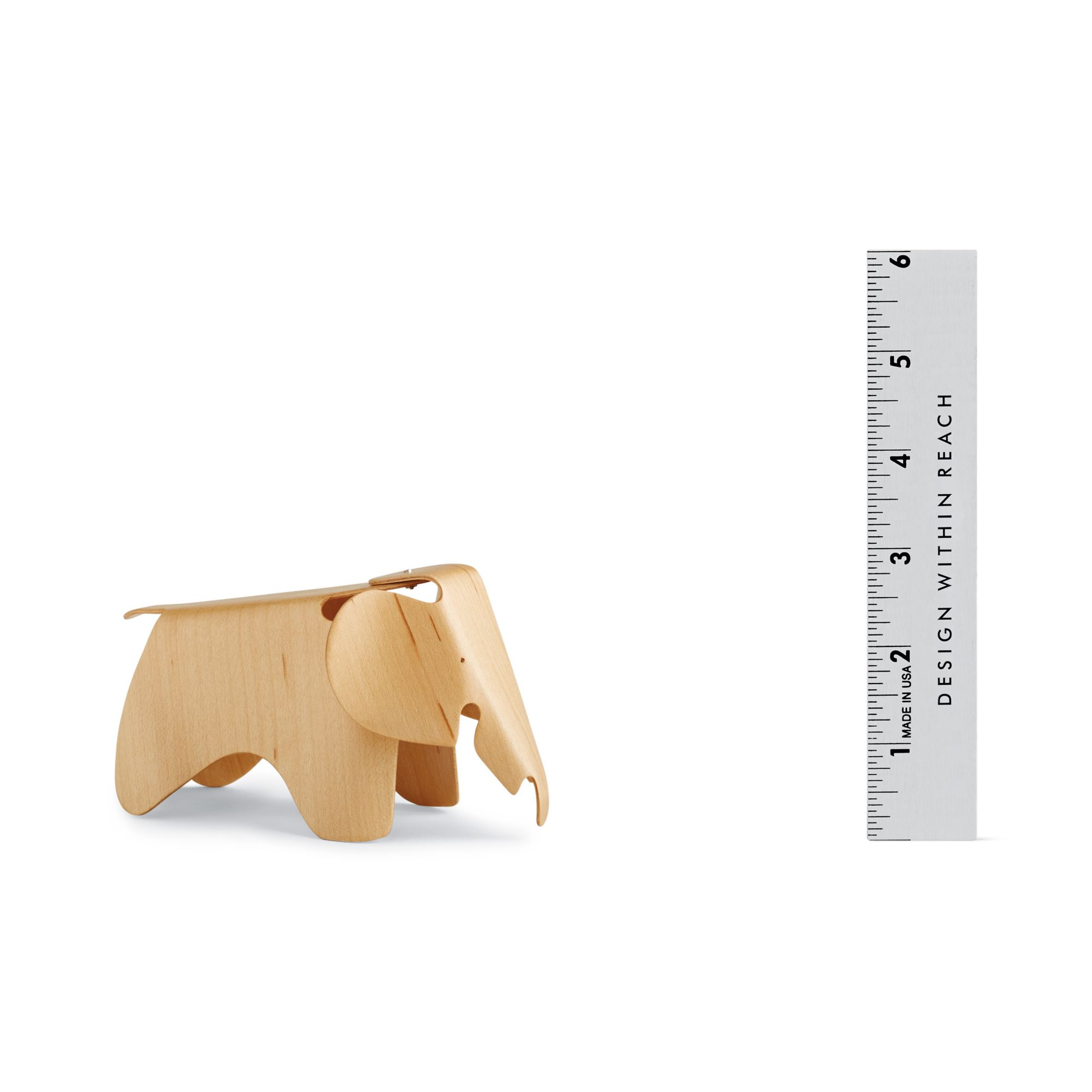 Vitra Miniatures Collection: Eames Plywood Elephant