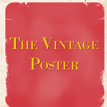 the vintage poster- company logo