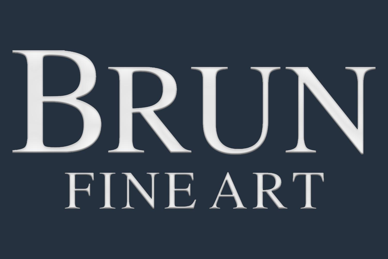 brun fine art- company logo