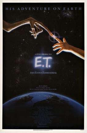 E. T. Extra Terrestrial (U.S. 1 sheet) E.T. - the Extra-Terrestrial