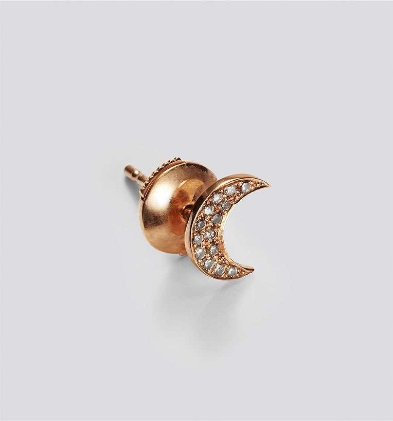 Banneya crescent earrings