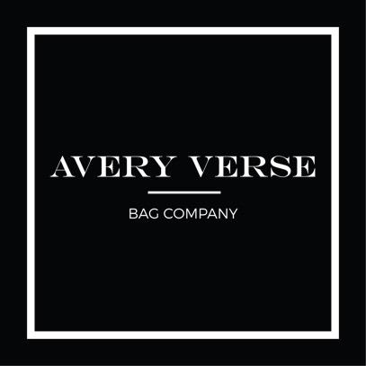 avery verse bag- company logo