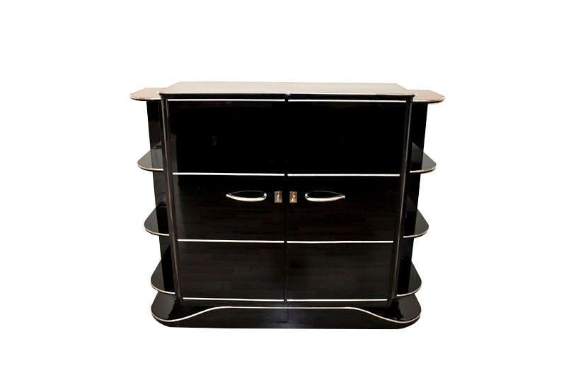 Luxurious Art Deco Bar Cabinet