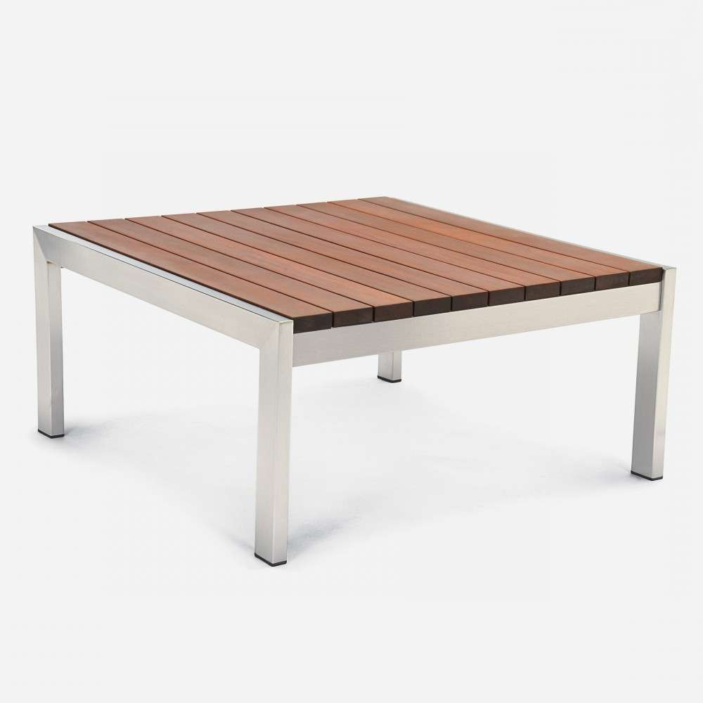 Case Study Stainless Coffee Table Square