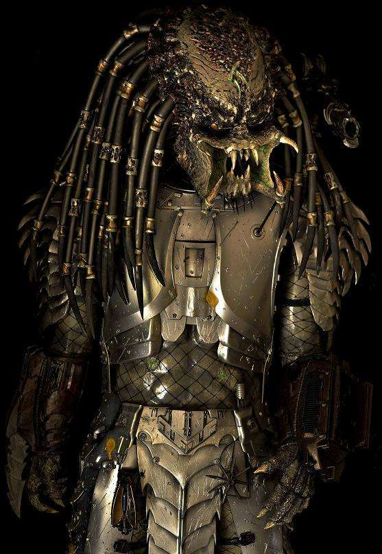 Life Size Hand-Made Statue of the Sci-Fi Monster Predator