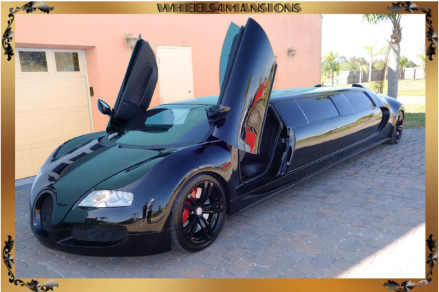 CUSTOM USA SUPER CAR LIMO
