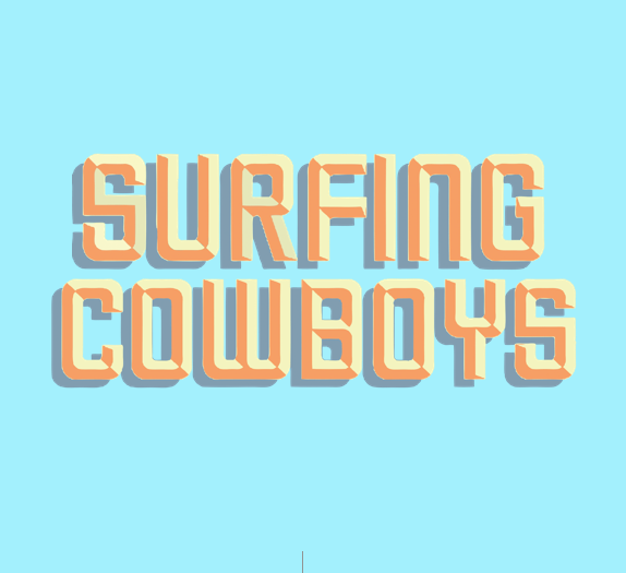 surfing cowboys- company logo