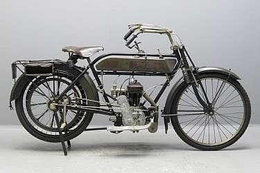 New Hudson 1913 350cc 1 cyl sv 2611
