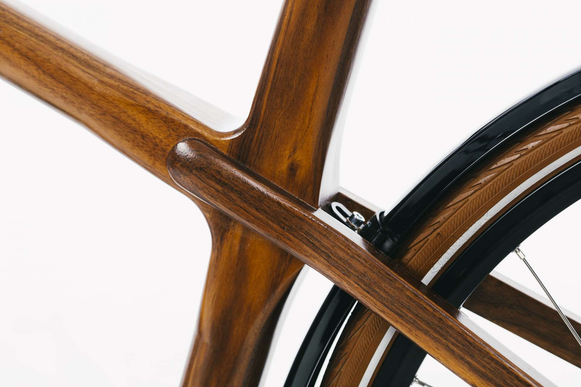 Materia Bikes - Wooden bicycle - City Bike Grace