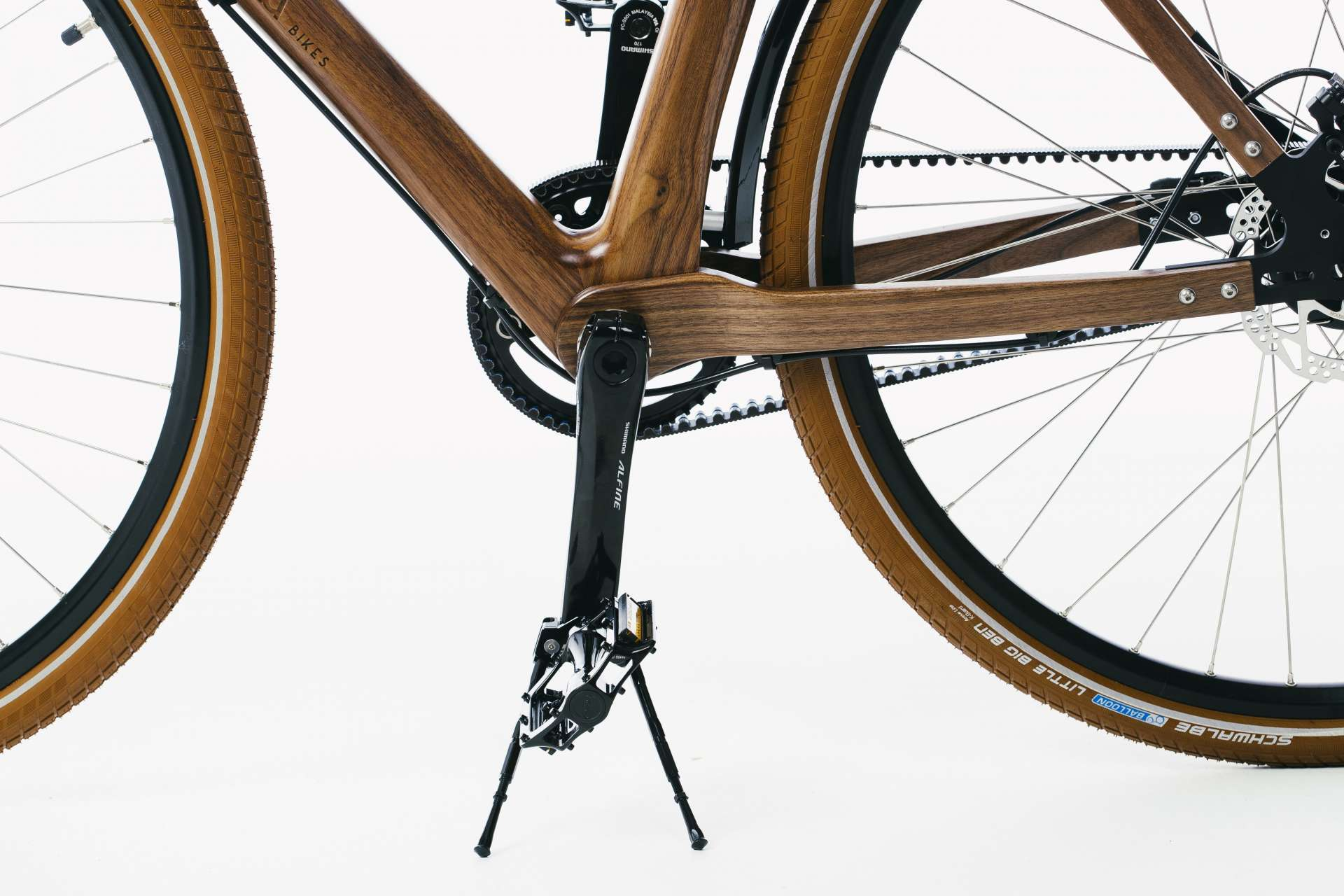 Materia Bikes - Wooden bicycle - City Bike Gusto