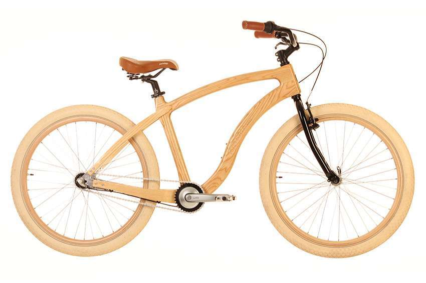 Materia Bikes - Wooden bicycle - Cruiser Ambre
