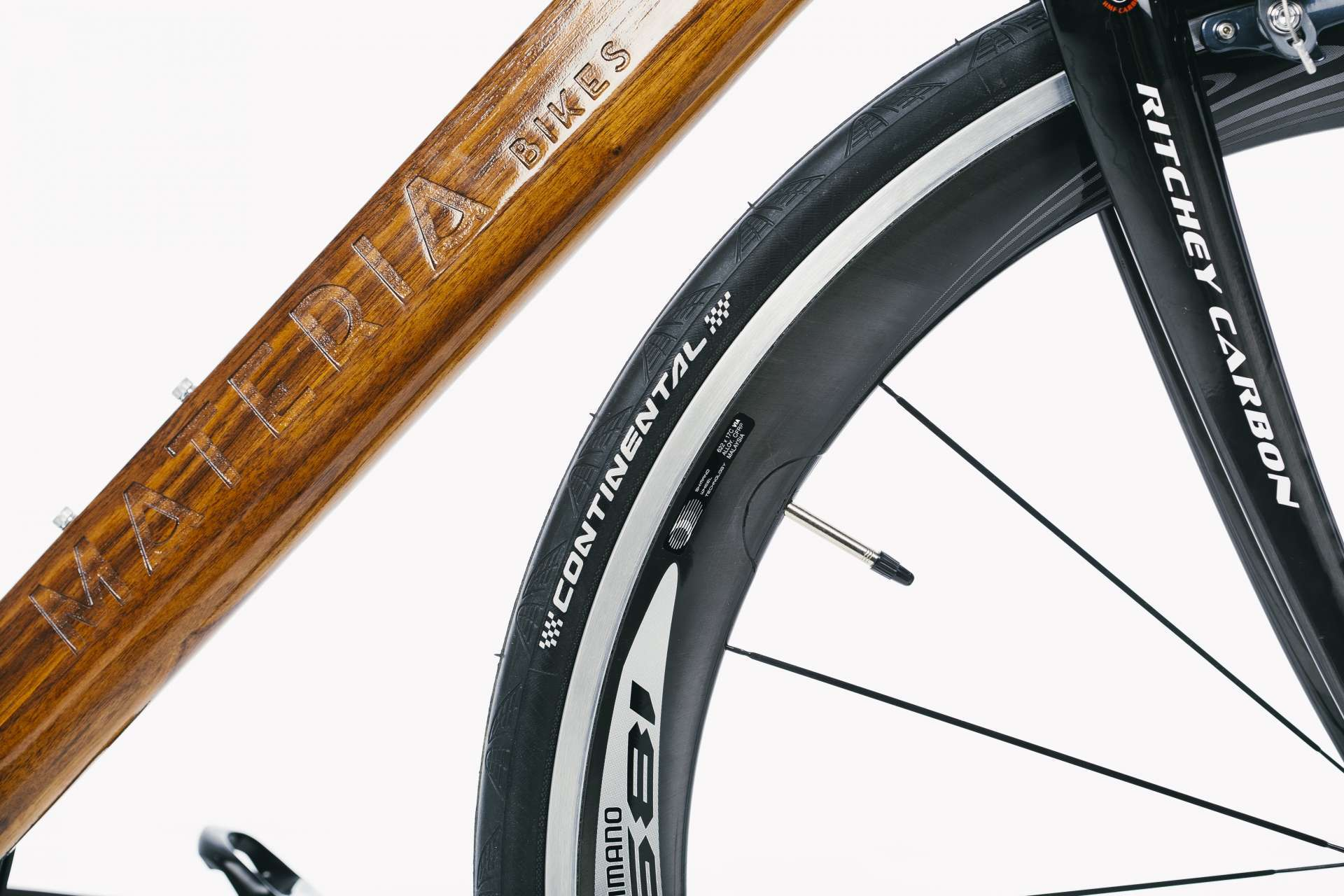 Materia Bikes - Wooden bicycle - Road Bike Tempo Ultegra