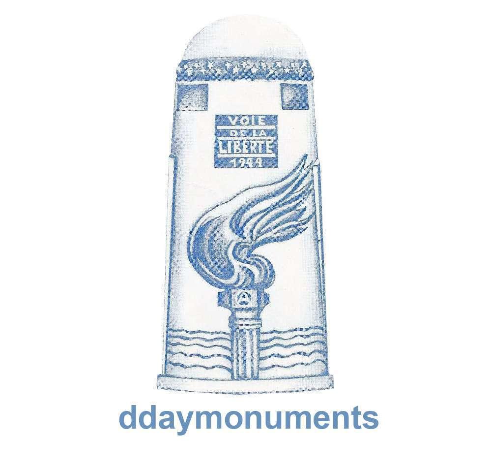 d day monuments- company logo