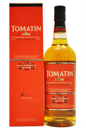 Tomatin Cask Strength Editon Batch 1