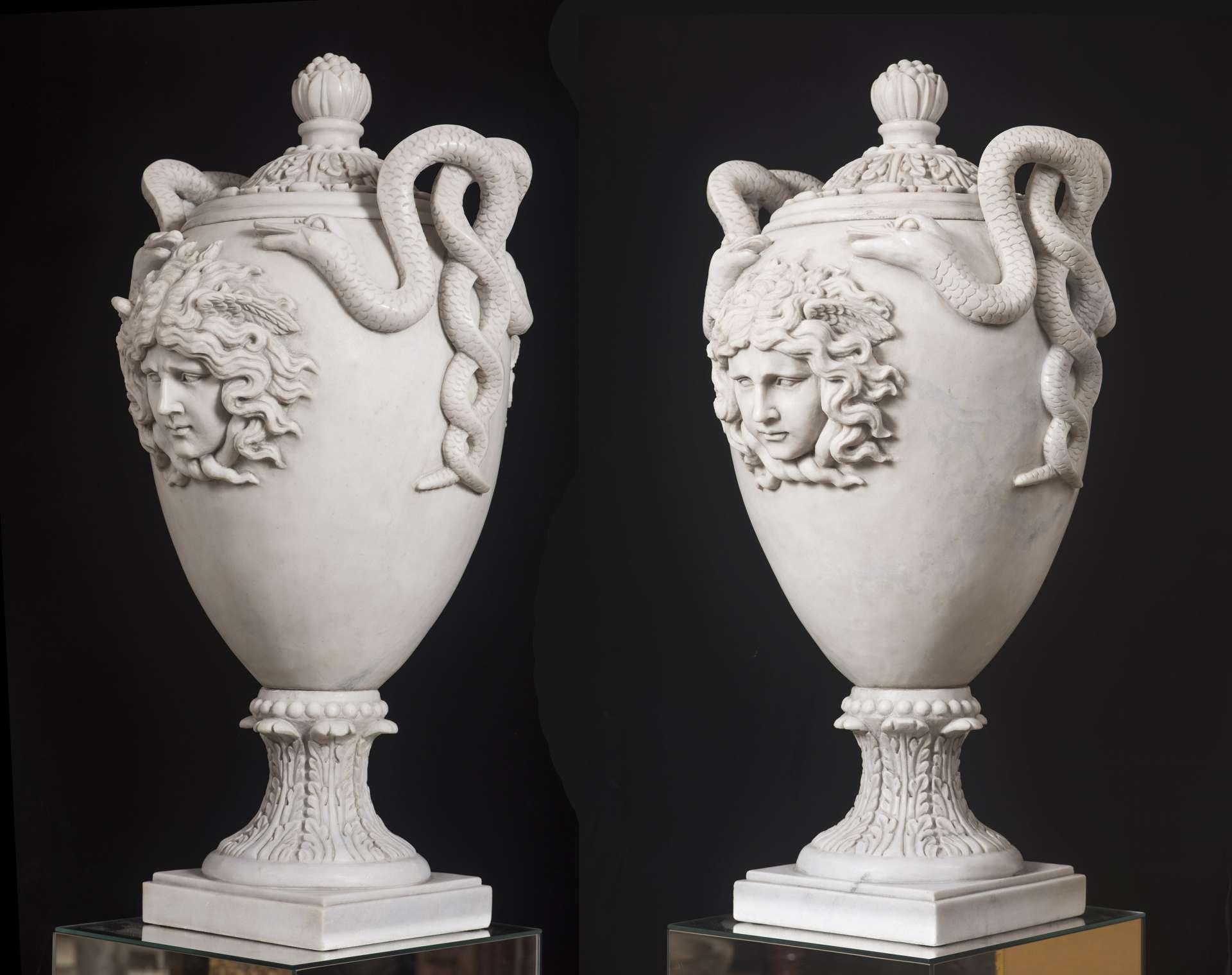 Neoclassical Marble Vase