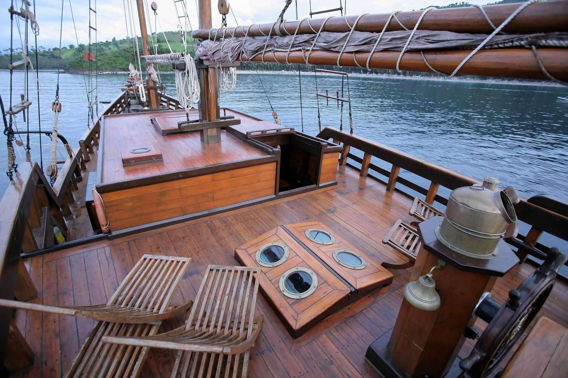 25m 2003 Phinisi Gaff Rigged Schooner