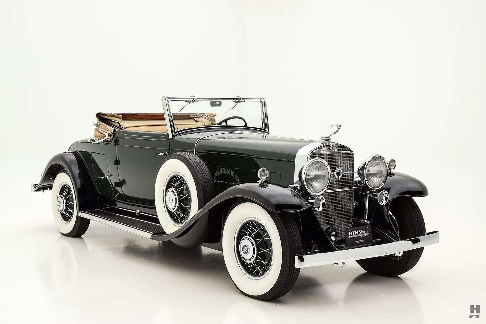 1931 cadillac v12 convertible coupe