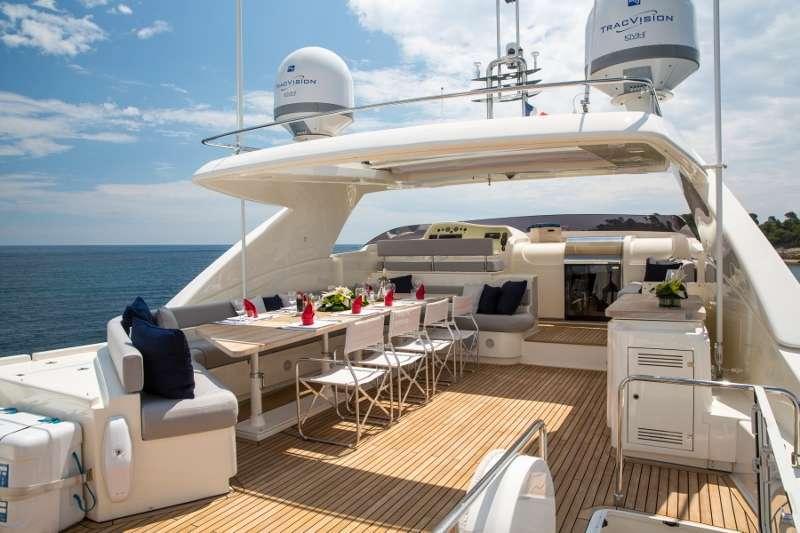 2012 Ferretti - 27m M/Y SANS ABRI - For Sale