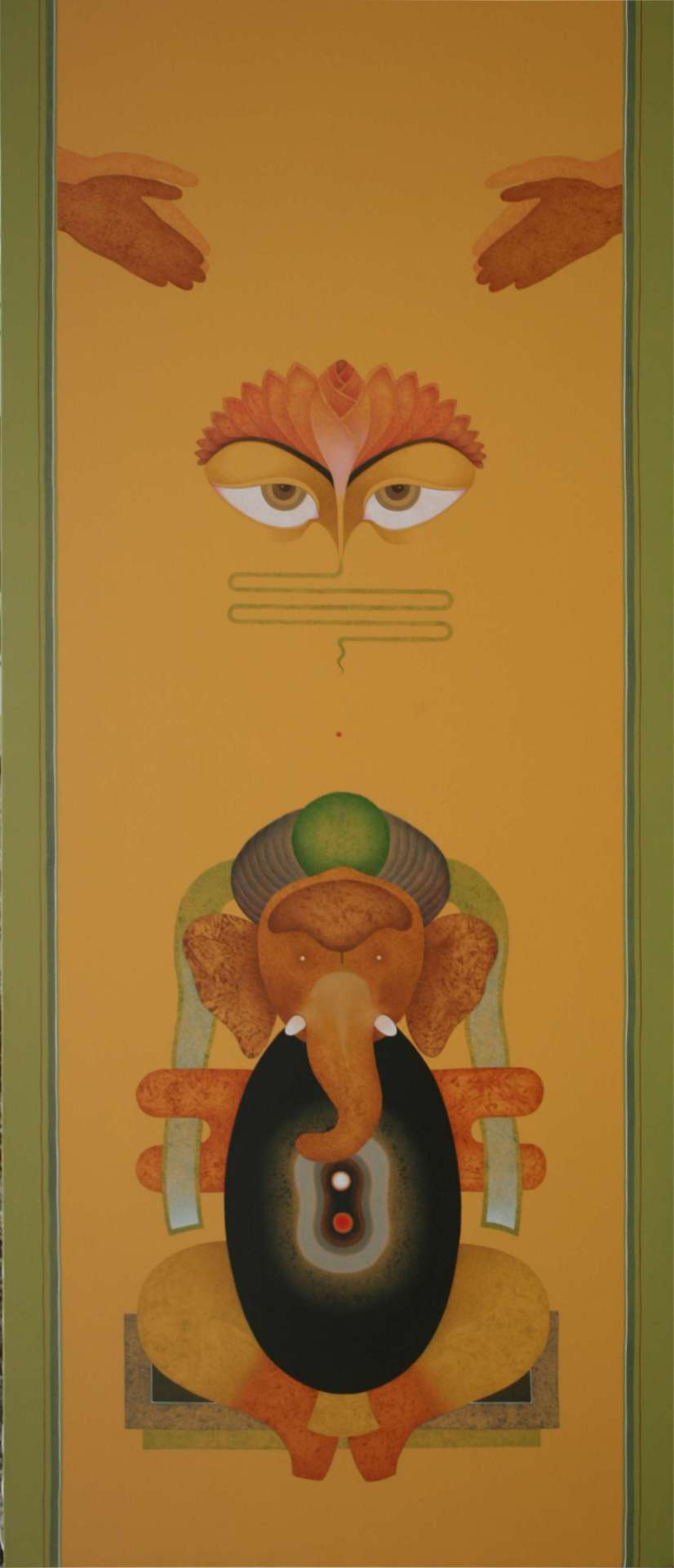 Amrut Patel - Tantrik Paintings