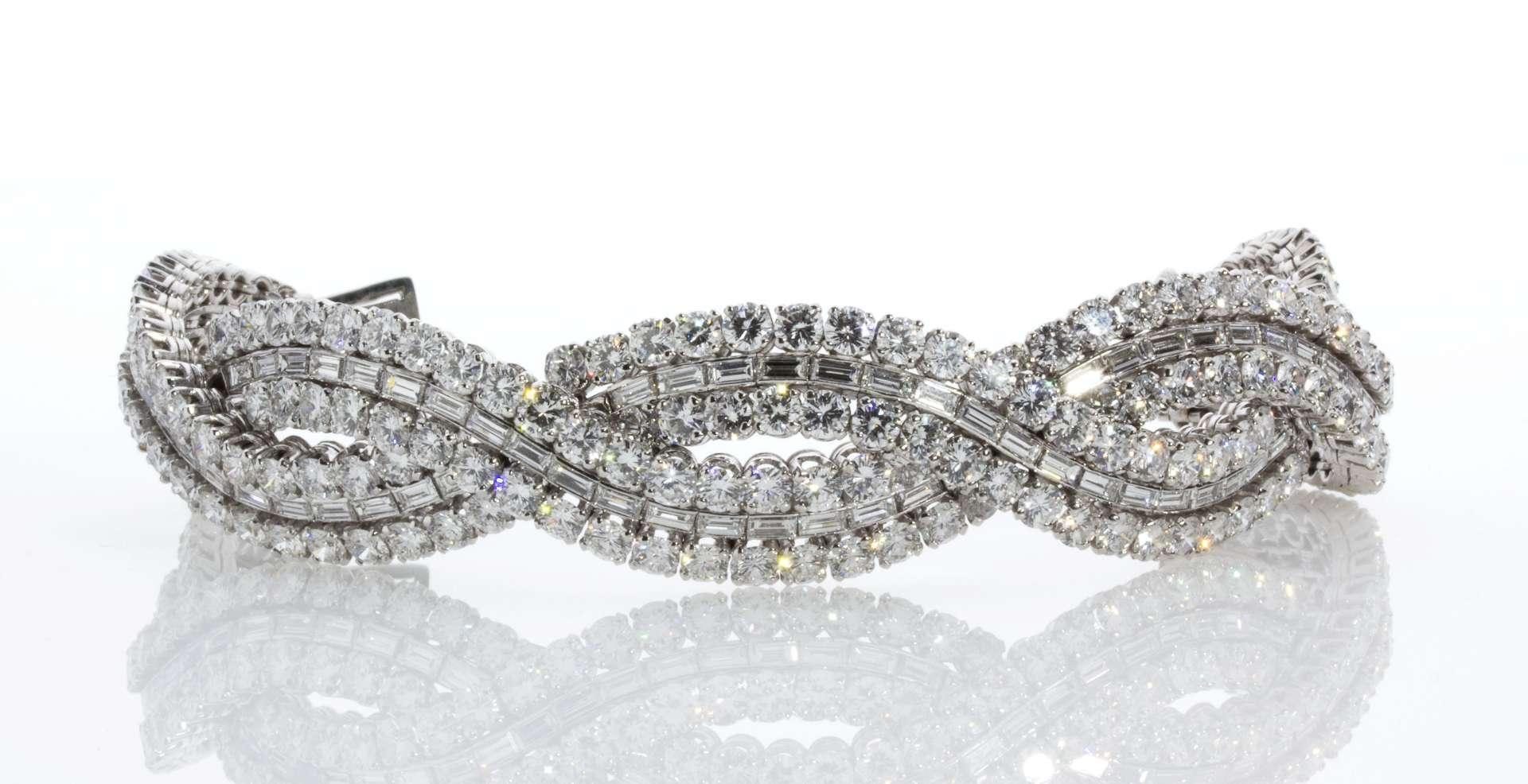 Boucheron, Paris, Platinum Diamond Bracelet