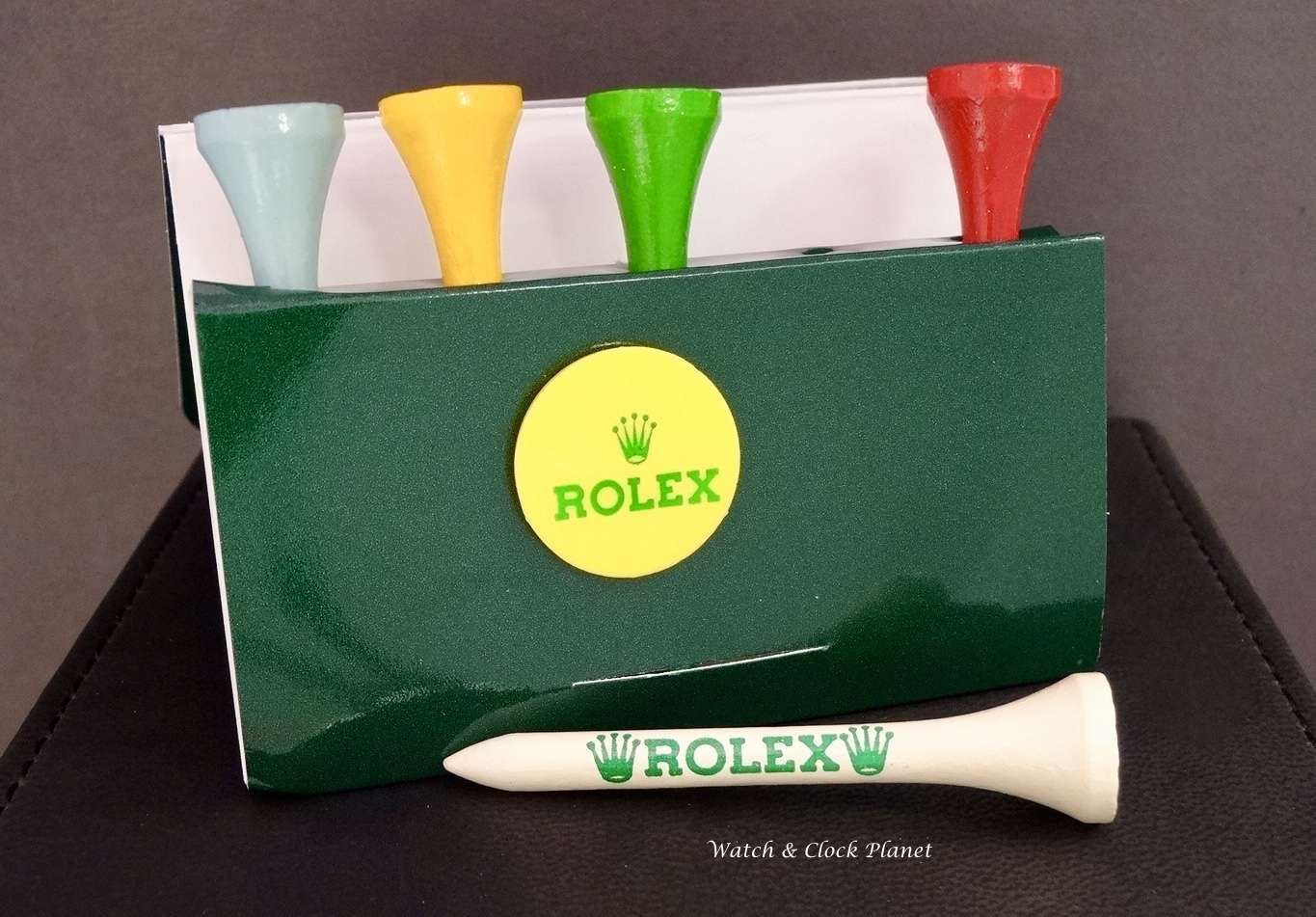 Rolex Original golf tees - 10 packs of 5 golf tees and marker