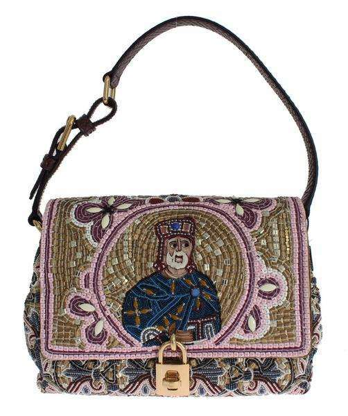 Dolce & Gabbana MISS BONITA Knight King Python Hand Shoulder Bag