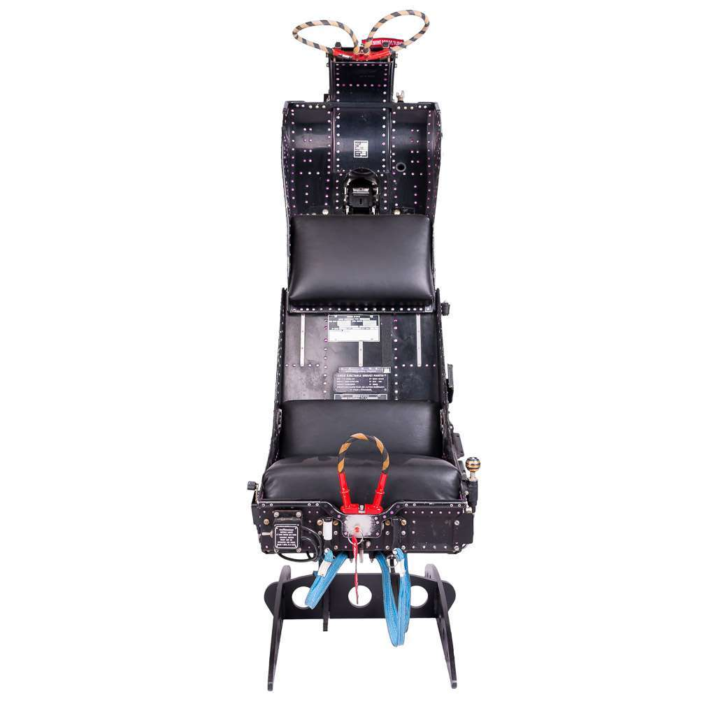 STYLISH AND VERY UNUSUAL MARTIN BAKER AIRCRAFT EJECTION SEAT c.1974