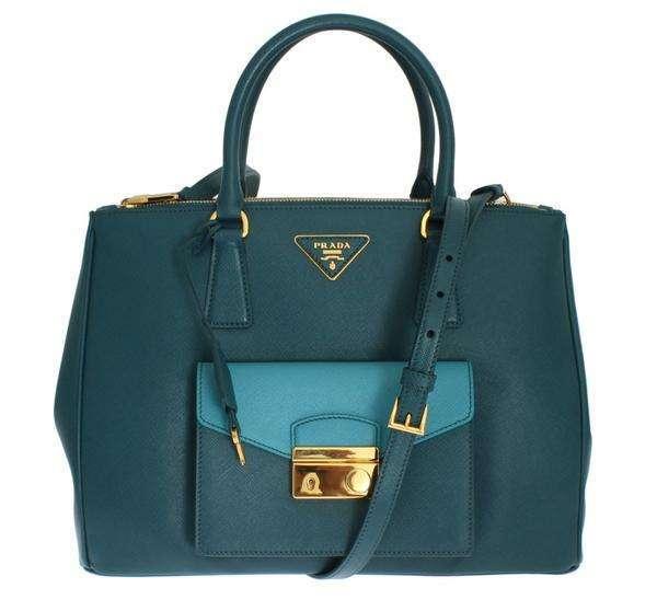 PRADA Saffiano Lux Bag BN2674 NZV F0POK